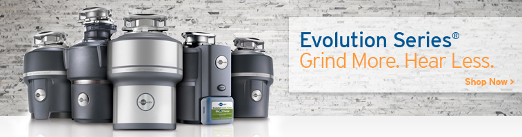 InSinkErator Evolution Garbage Disposals
