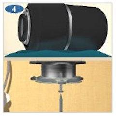 install garbage disposal sink flange