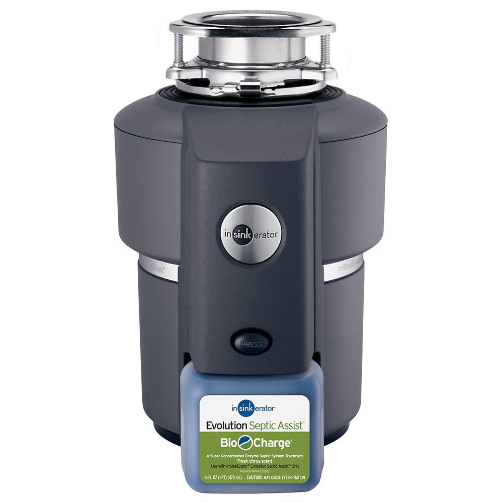 Evolution Septic Assist Garbage Disposal Disposer Insinkerator