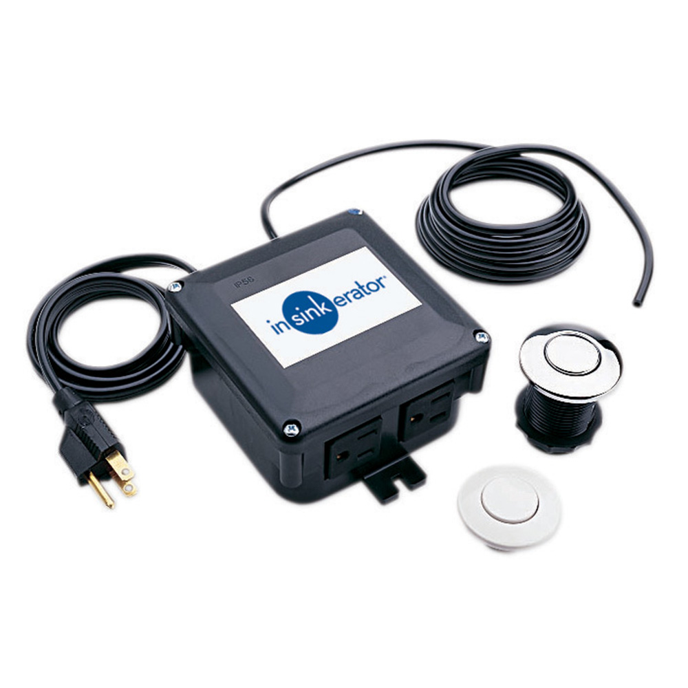 Sinktop Switch Dual Outlet Insinkerator Emerson Thread To Wiring Can This Be Used With The Evolution Cover Control Model